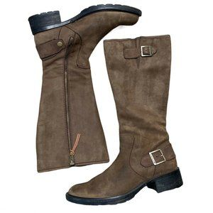 Timberland Lexiss Tall Brown Riding Boots Leather